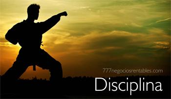 disciplina emprendedora